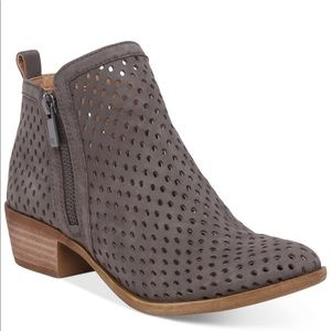 Lucky BrandWomen's Perforated Basel Booties - 9